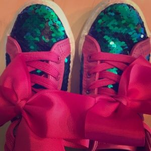 Girls JoJo Siwa Sequin sneaker